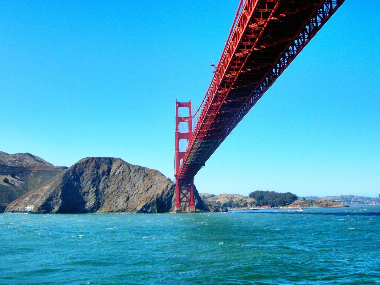 Beautiful stock photos of bridge, Built Structure, Clear Sky, Coastline, Connection