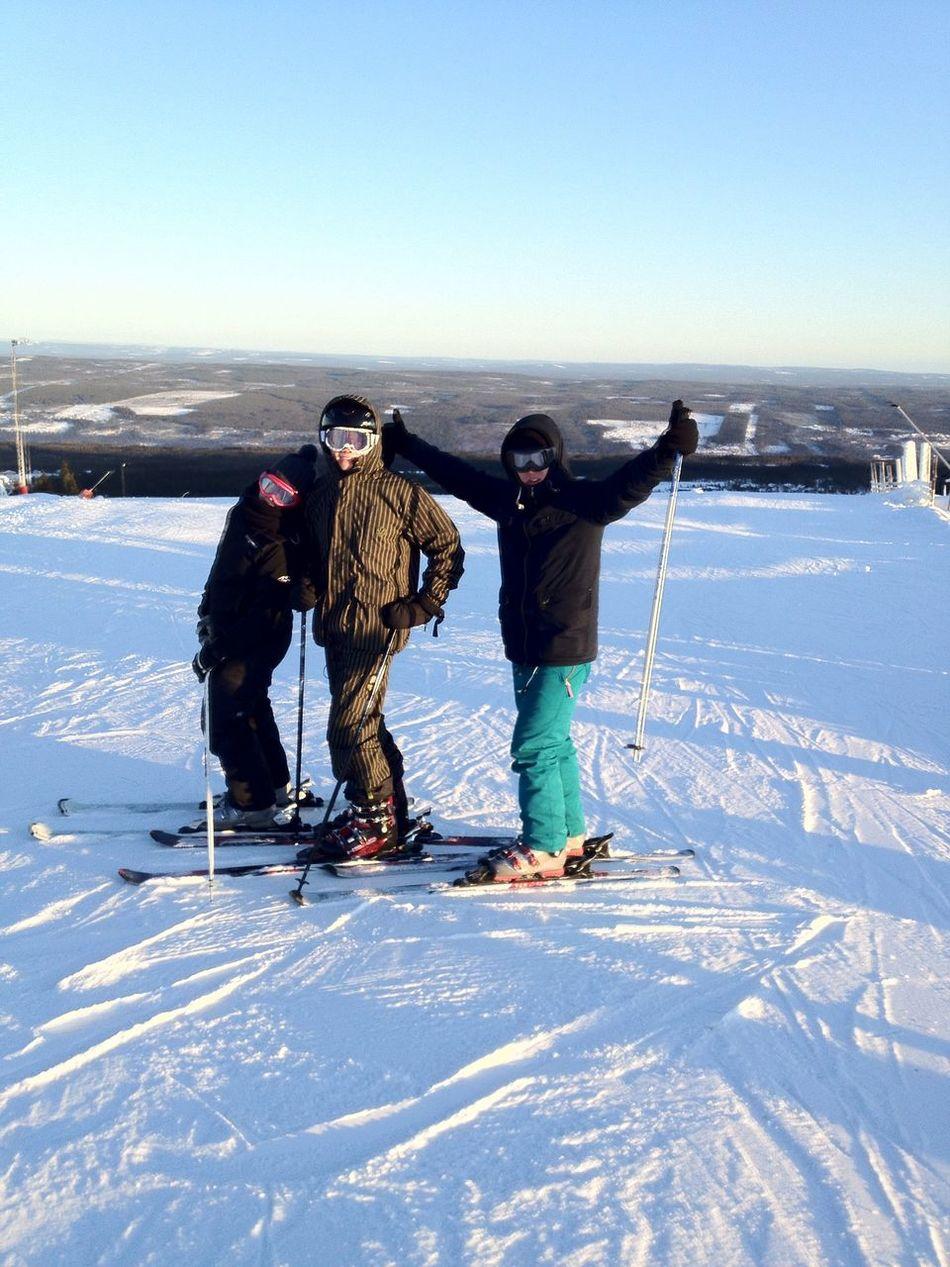 Skiing at Lindvallen Sälen Skiing
