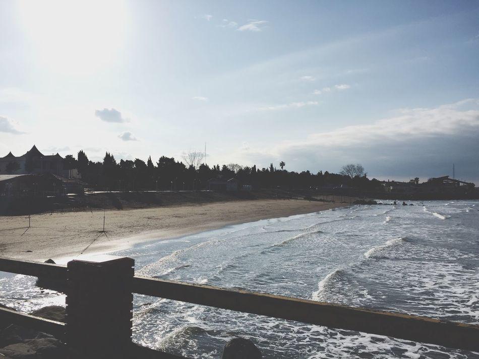 Sea Caspian Sea Winter Beautiful Good Day :) Beach