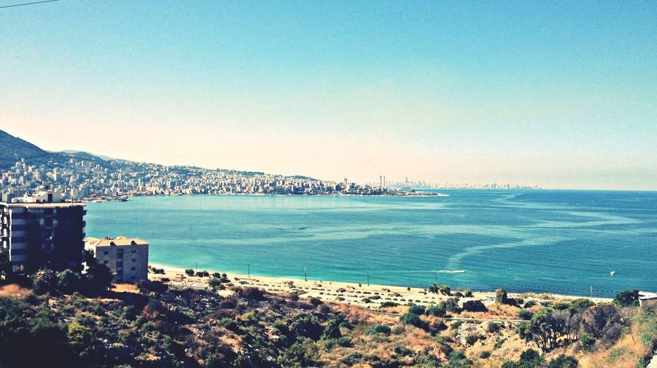 Jounieh Bay Enjoying The View Beirut