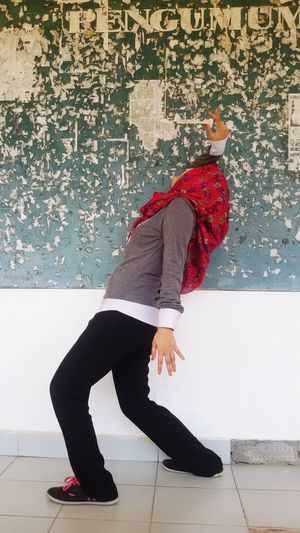 Getting Creative Red University Announcement Beautiful Girl ExpressYourself Daily Shot INDONESIA EyeEm Indonesia