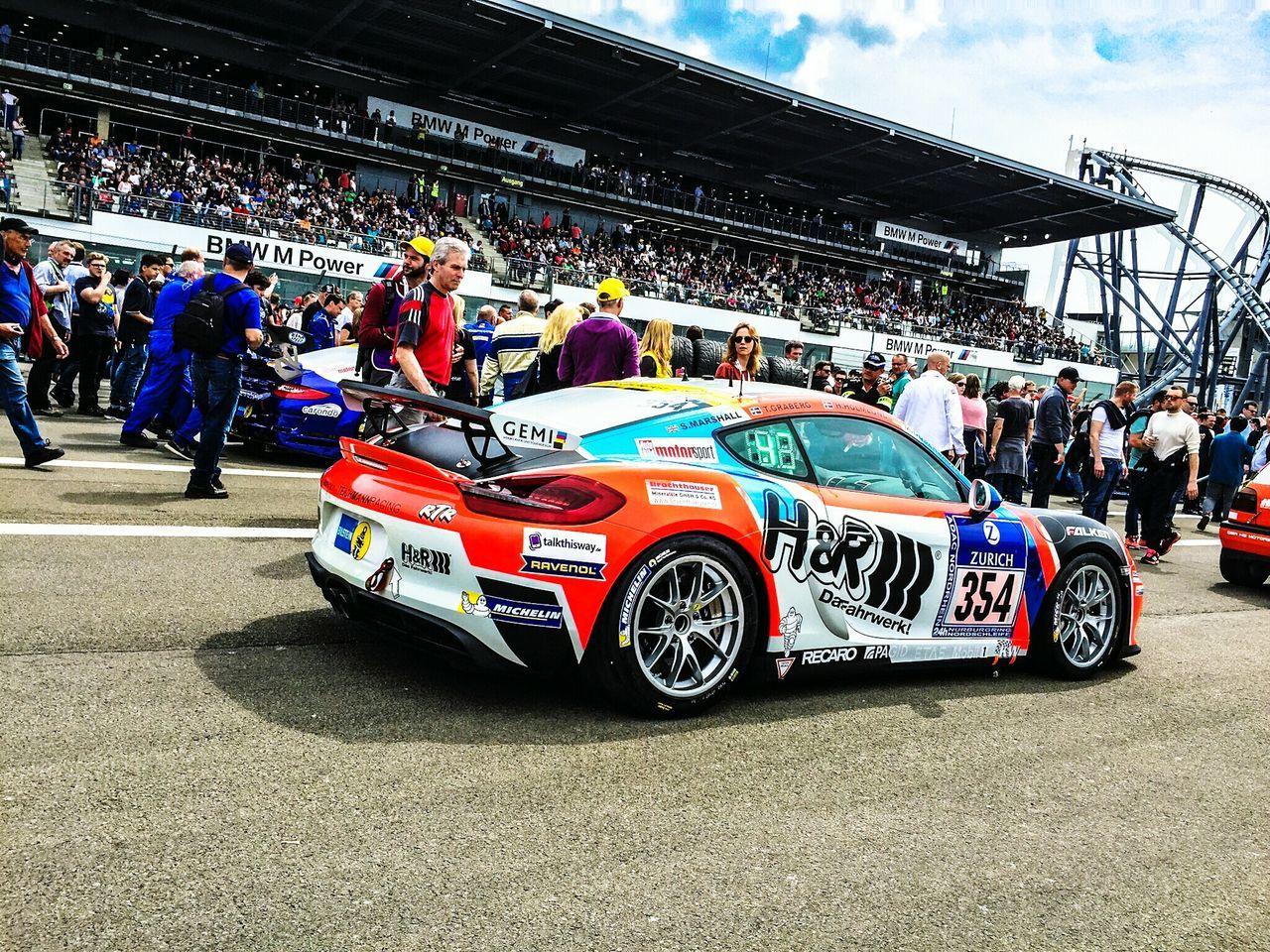 Porsche Rtr  Nurburgring 24h Race Motorsport Racing Nordschleife Race People Watching 24h