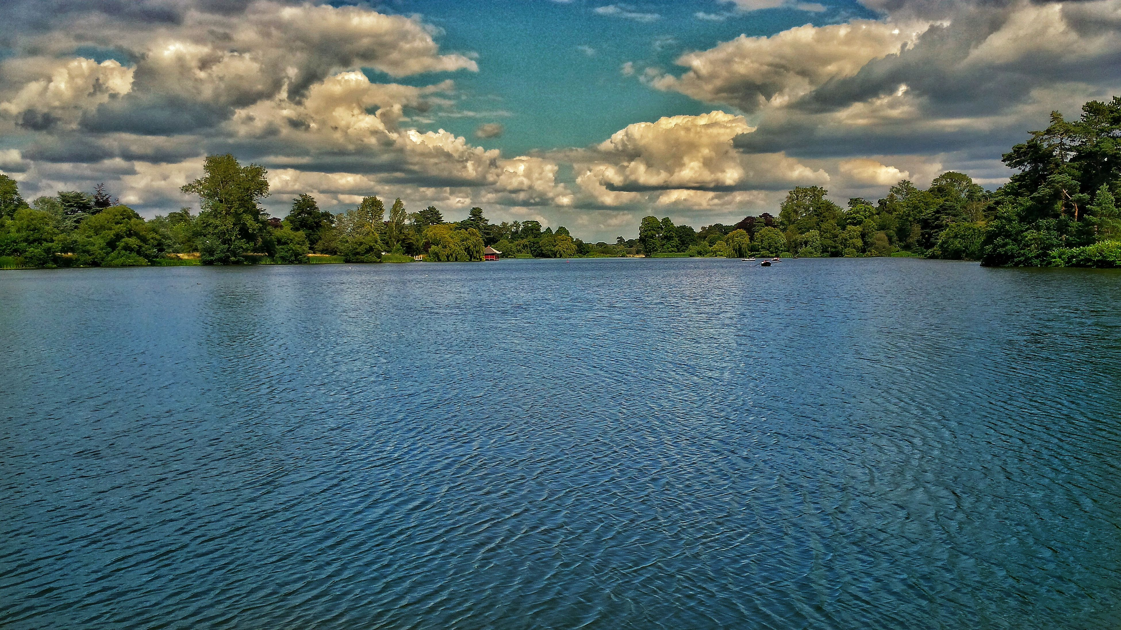 reflection, water, tree, sky, cloud - sky, nature, lake, scenics, outdoors, no people, beauty in nature, reflection lake, day