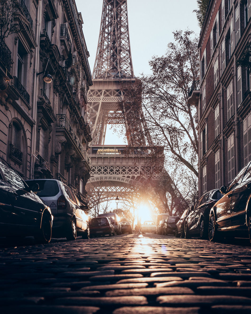 Beautiful stock photos of eiffel tower,  Architecture,  Blue,  Built Structure,  Car