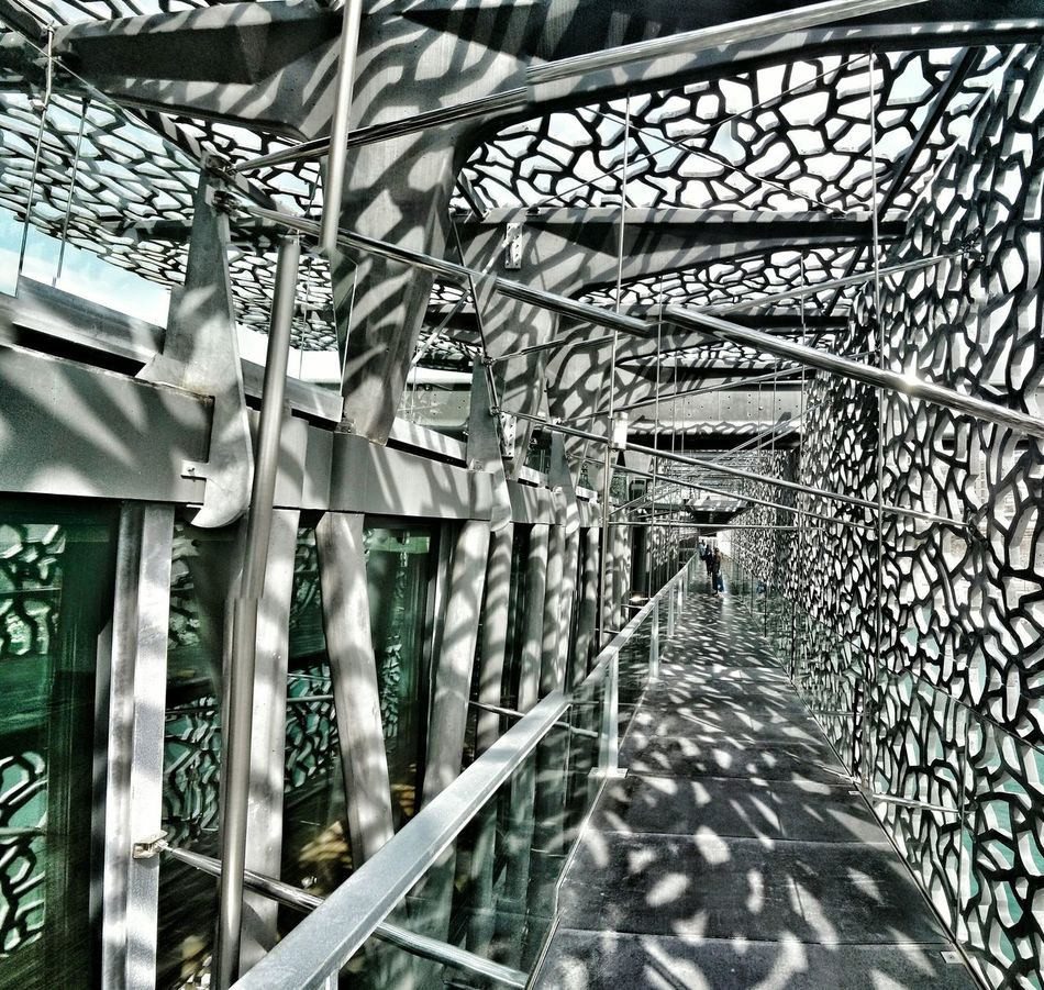 Marseille Mucem :: MUCEM And Fort St-Jean, Marseille :: Architecture Architectural Detail Architecturelovers Creative Light And Shadow Awesome Architecture Modern Architecture Architecturedetail