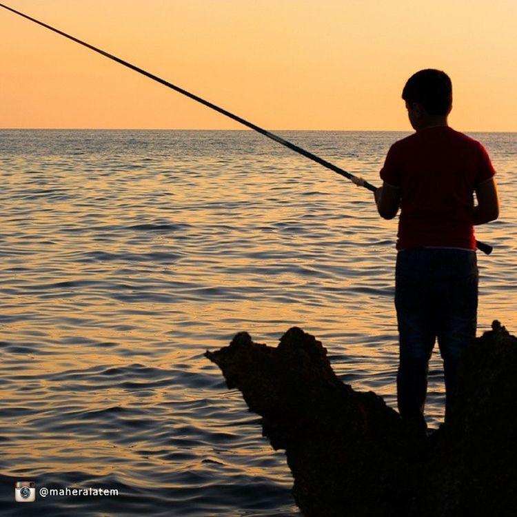 جبلة سورية اللاذقية Jableh lattakia syria fishing غروب sunset