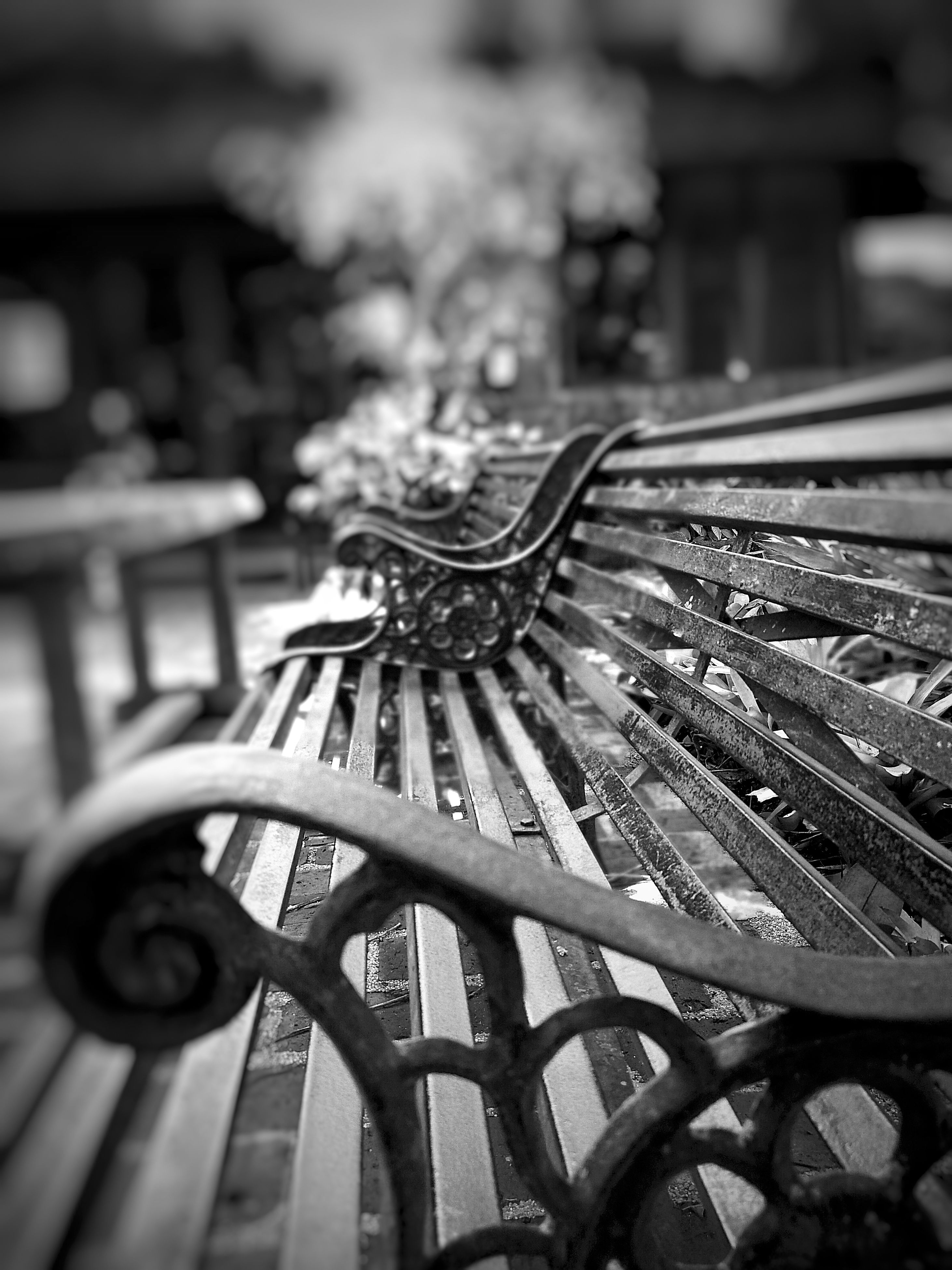 wheel, no people, focus on foreground, close-up, outdoors, day