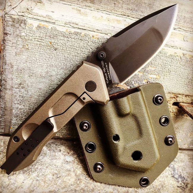 Extrema Ratio Ti-Rock Outdoor Version is coming... by @coltelleriacollini Bustoarsizio Italy Blade Blades Knives Knife Army Military Outdoors Survival Custom Tactical Everydaycarry Coltello Coltelli Messer Cuchillo Single Object Weapon Collini Outdoor Follow us: @coltelleriacollini EDC Knifeporn