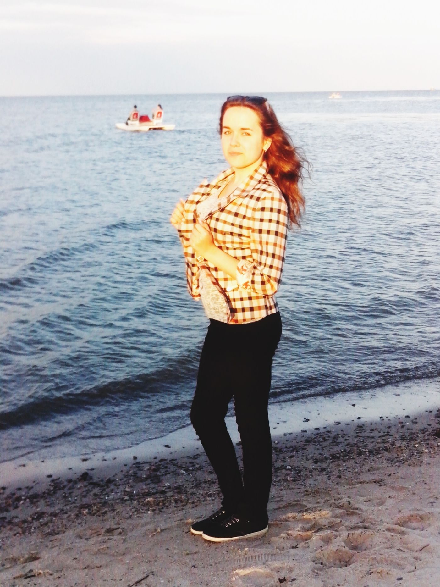 Me :) Girl TheDayOfRussia Beach Sea