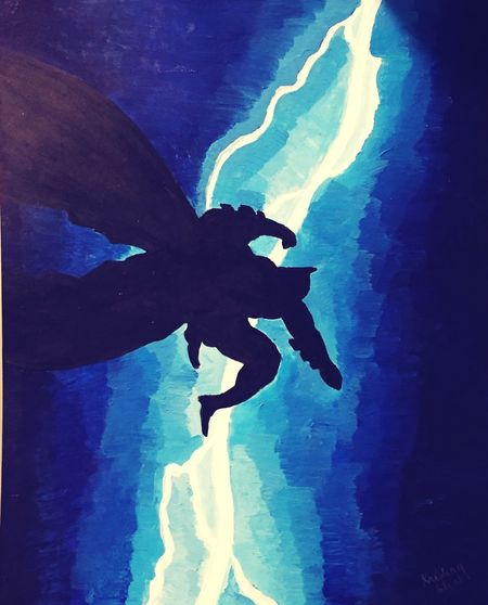 My artwork based on frank Miller Batman Returns Batmanfordays