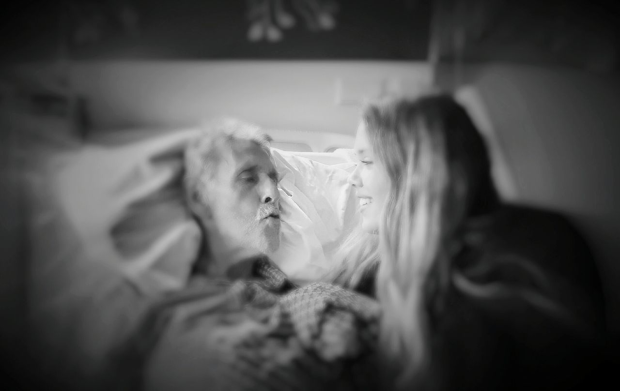 Last Kiss Goodbye Father And Daughter Feel The Journey Vaya Con Dios https://youtu.be/Q_jxrEsVaio My Dad My Hero