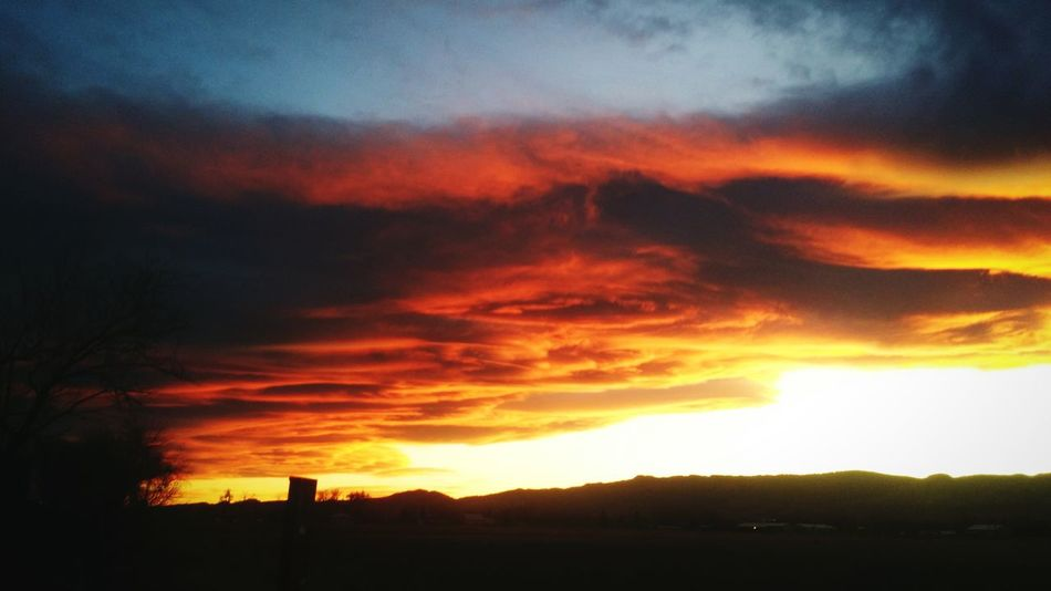 Dramatic Sky Sunset Beauty In Nature Sunsational!! Sunset On The Rockies Ever Changing Canvas Of The Sky Sunset_collection