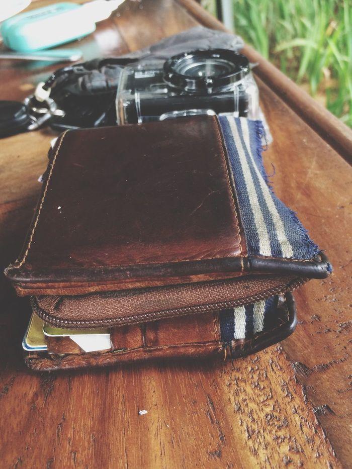 My wallet,camera & car keys