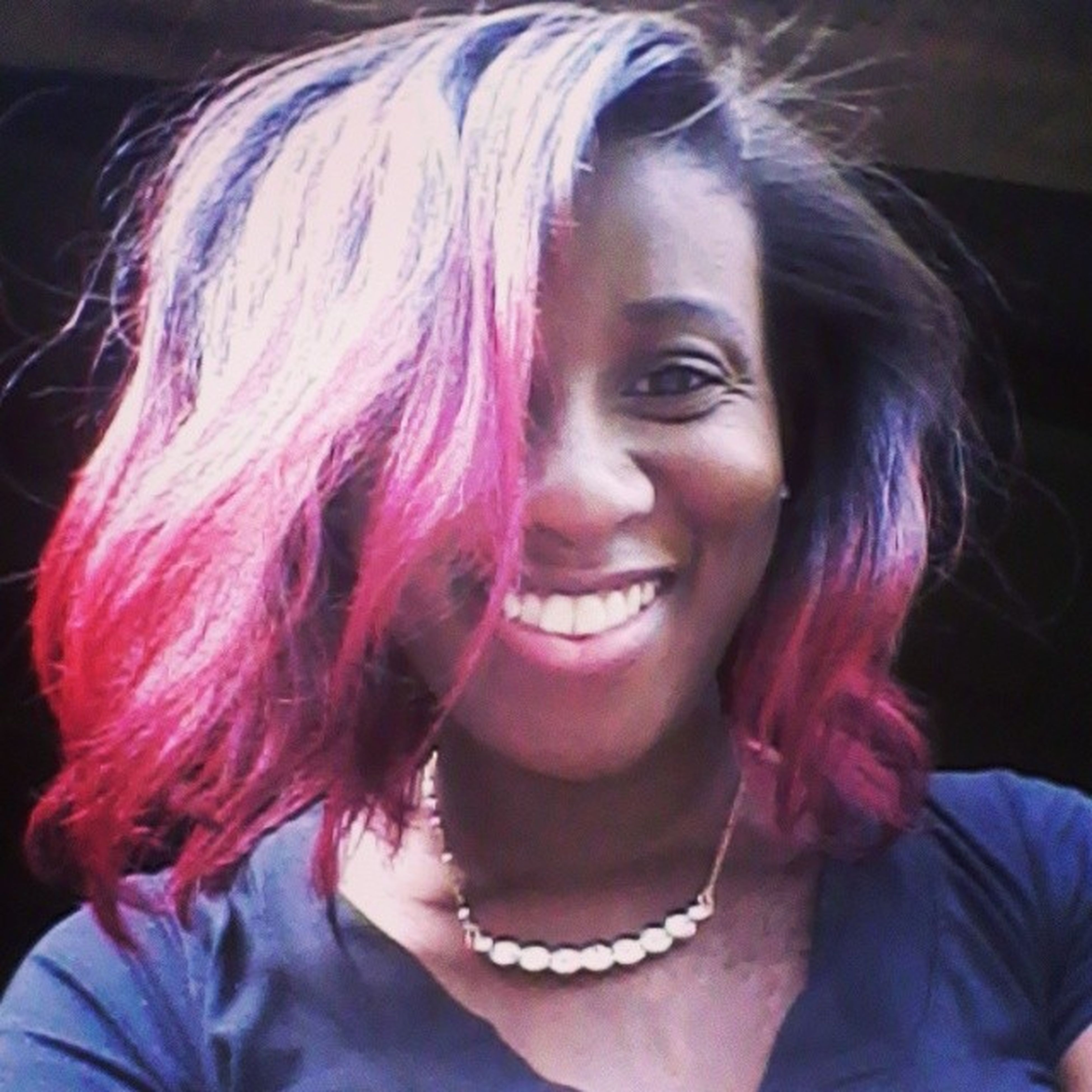Back to the old me! Red heads have more fun. :) Relaxedhair Healthyrelaxedhair