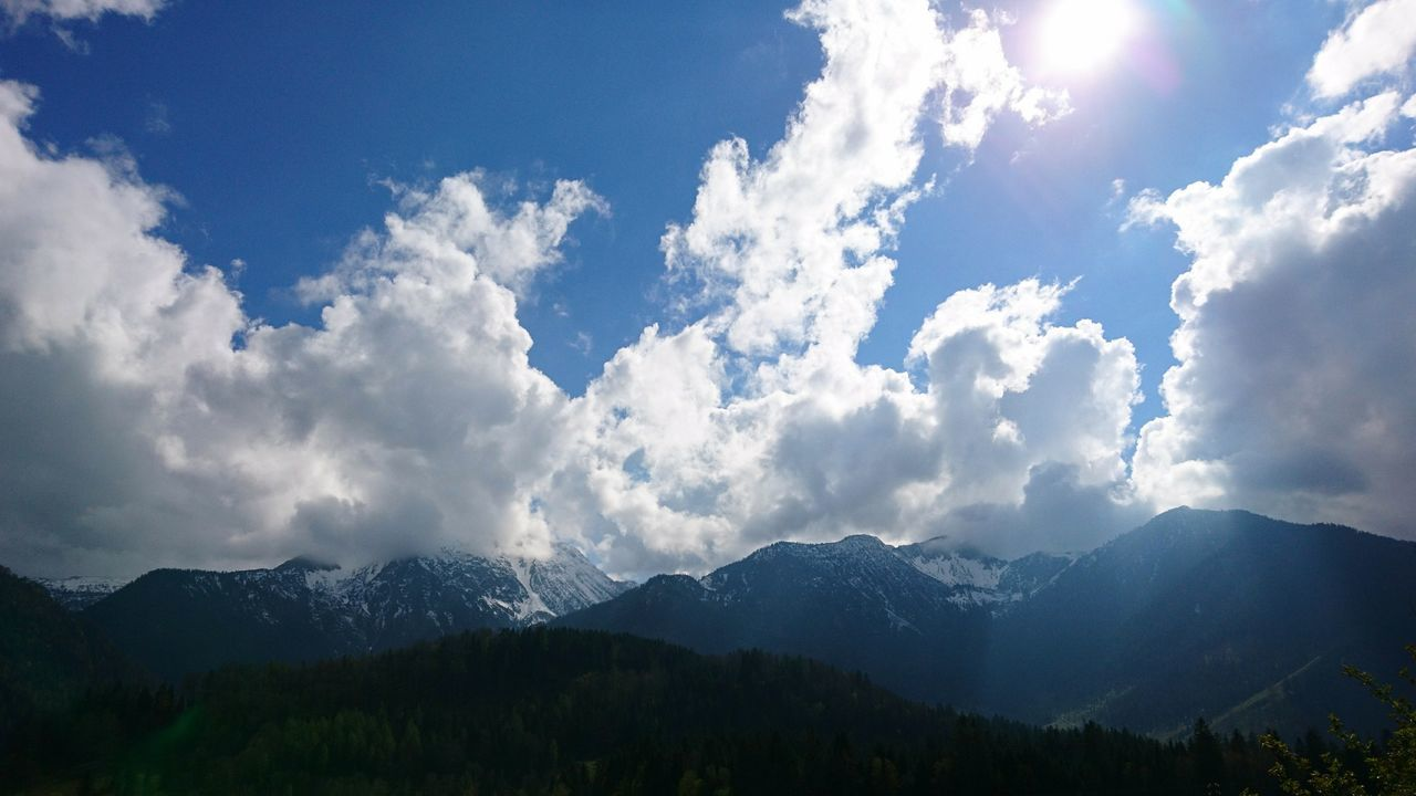 Alpine foreland IV. · Germany Bavaria Bayern Alpine Foreland Alpine Foothills Alpenvorland Mountains Hills Nature Landscape Sun Clouds And Sky Beauty In Nature Beautiful Day Wonder