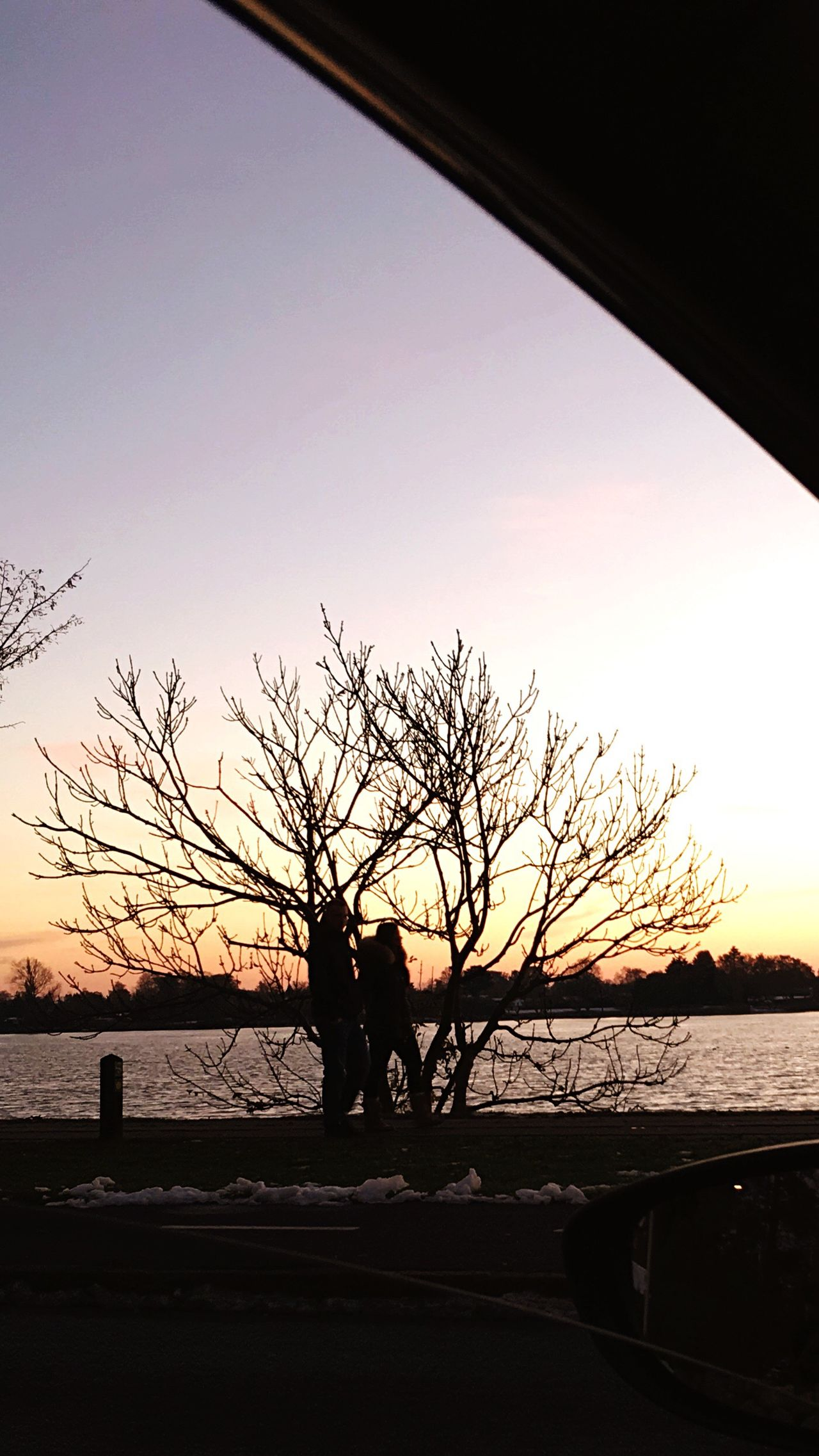 Sunset Silhouette Real People Sky Outdoors Men Lifestyles Nature Beauty In Nature Love Girl Boy Water Day Danmark First Eyeem Photo