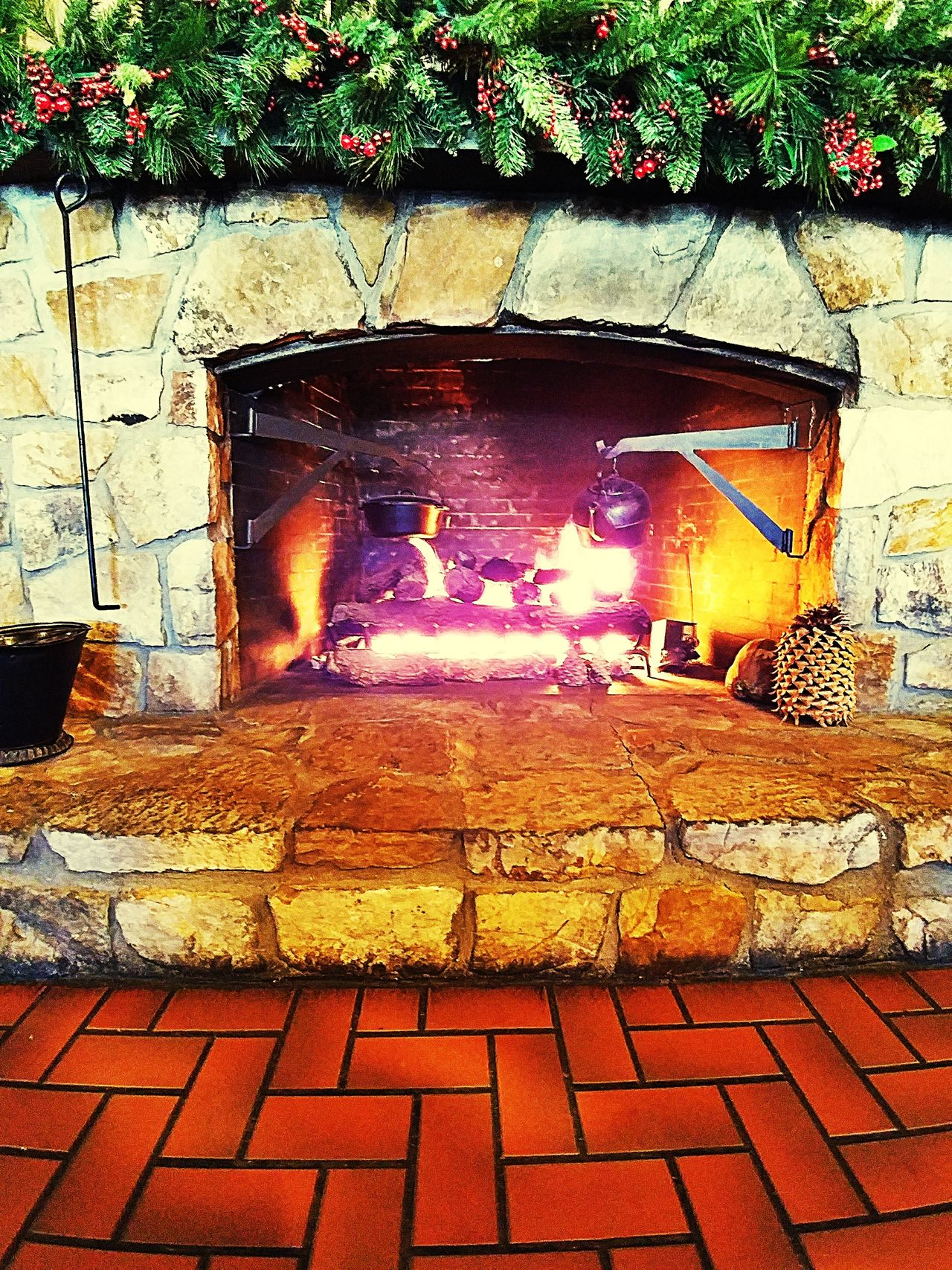 Fire Burning Flame No People Heat - Temperature Christmas Outdoors Illuminated Night Check It Out Fire Place Fire - Natural Phenomenon Architecture
