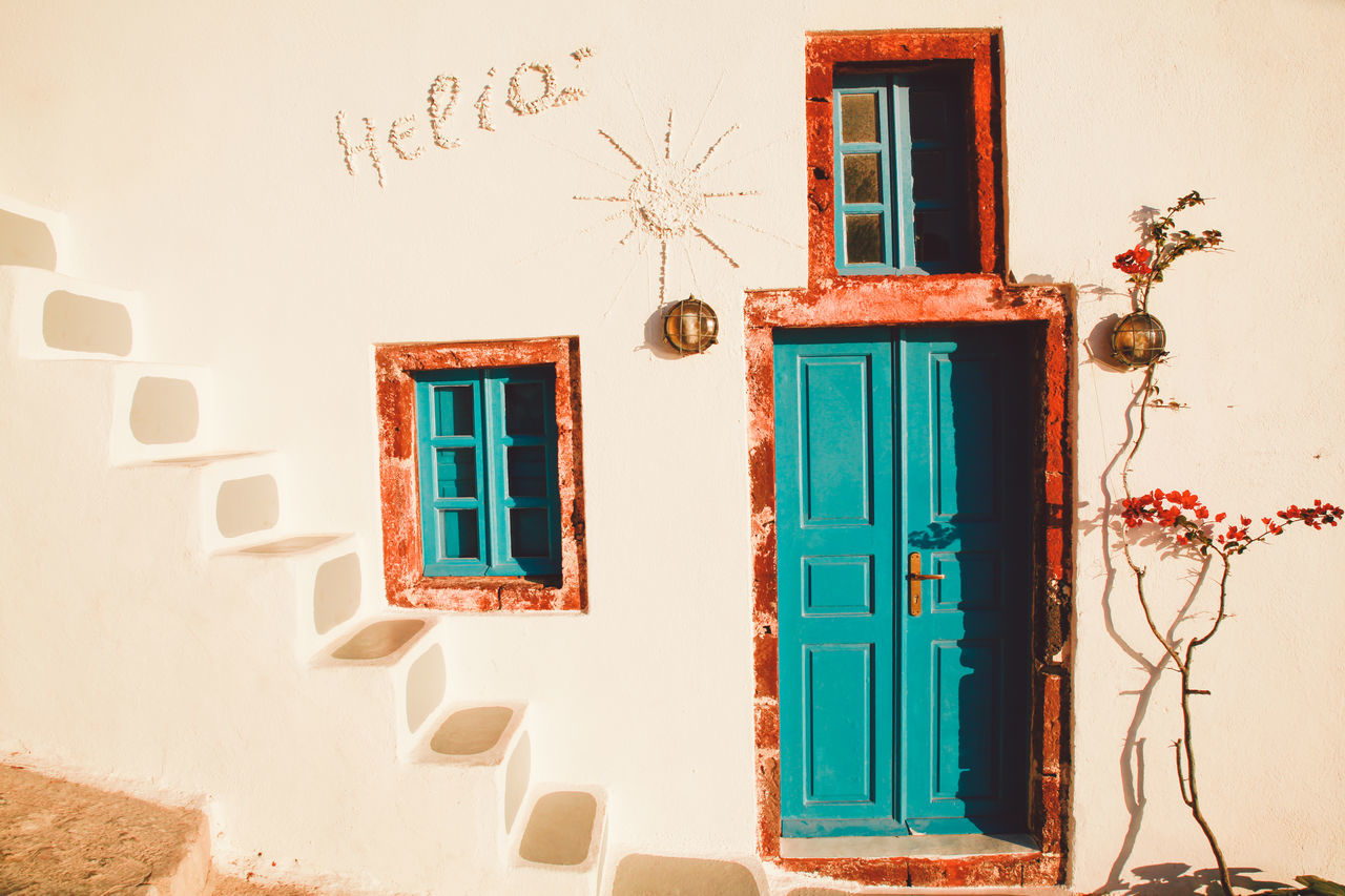 Beautiful stock photos of greece, Architecture, Building Exterior, Built Structure, Closed