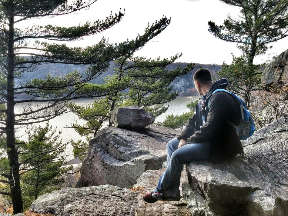 Hikingadventures Wisconsin Devilslake  Awesome Amazing Skyhigh Nature Outdoors Fall Autumn Beautiful Boyfriend Boom Follow4follow Commentbelow Likeit Loveit RePicture Masculinity