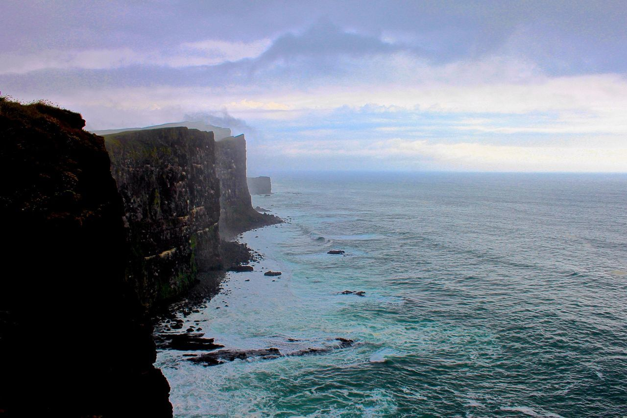 Látrabjarg Cliffs Iceland Landscape_Collection Romantic Landscape Iceland Trip Iceland_collection Iceland Memories Icelandtrip The Great Outdoors - 2015 EyeEm Awards Cliffs Latrabjarg Beautiful Nature