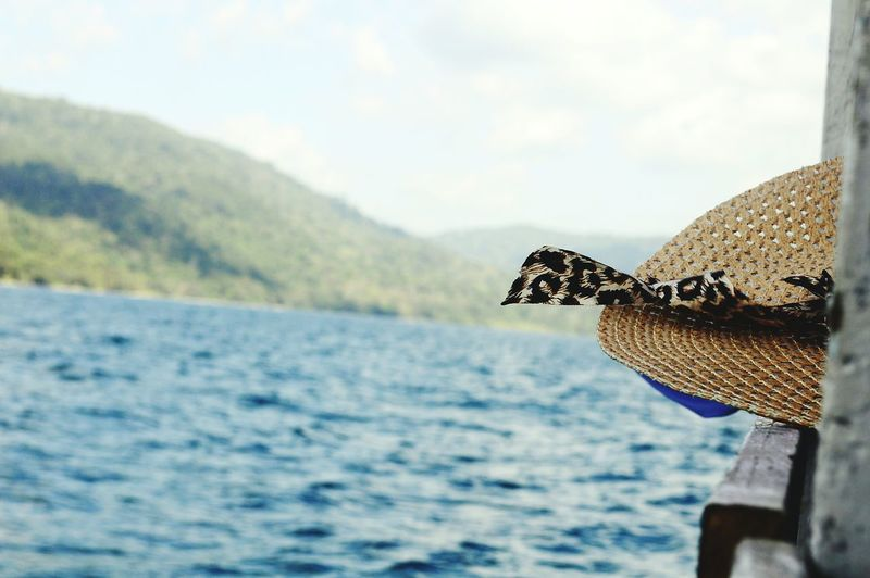 Sea Water No People EyeEmNewHere Beauty In Nature One Animal Hat Close-up Focus