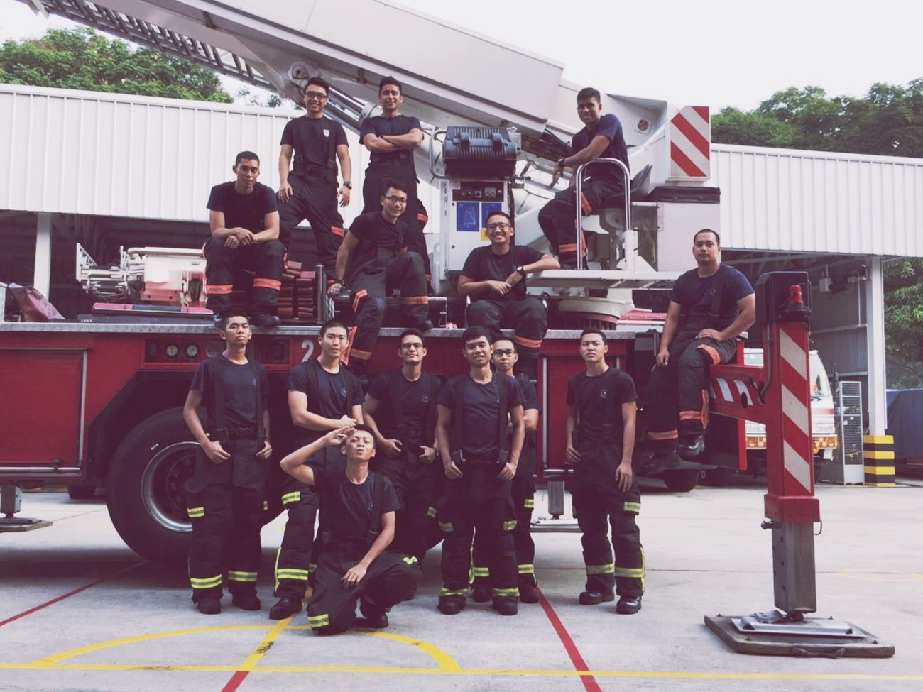 Station 22, Changi Fire Station🚒🚨 Scdf Life Saving Force CFS