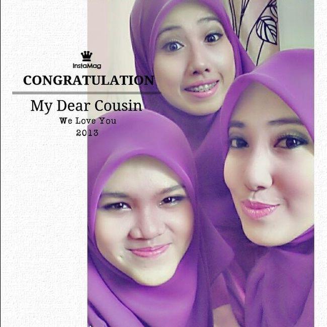 Congratulation dear cousin ! Got straight A's for PMR. Alhamdulillah ツ We love you kakak ! Smartgirl  Anakbaik