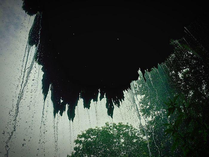 Under The Waterfall Water_collection Bad Urach Waterfall Schwäbischealb Beautynature