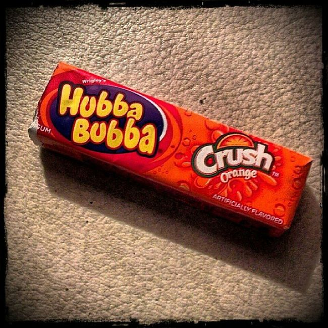 Wrigleys Hubbabubba OrangeCrush Gum Ilovegum MyFavorite  Hashtagaddiction Pictureoftheday Picoftheday Photooftheday Pixlromatic Portorchardwashington DroidRazr