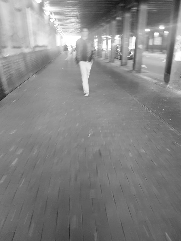 Tunnel Tunnel Series Tunnel View Portrait Of A Man  Black And White Photography Black And White Collection  City Life Citylife Blackandwhitephotography Walking My City Street Life People On The Street Streetphoto GalaxyS7Edge Walking Away Movement Photography Monochrome Photography