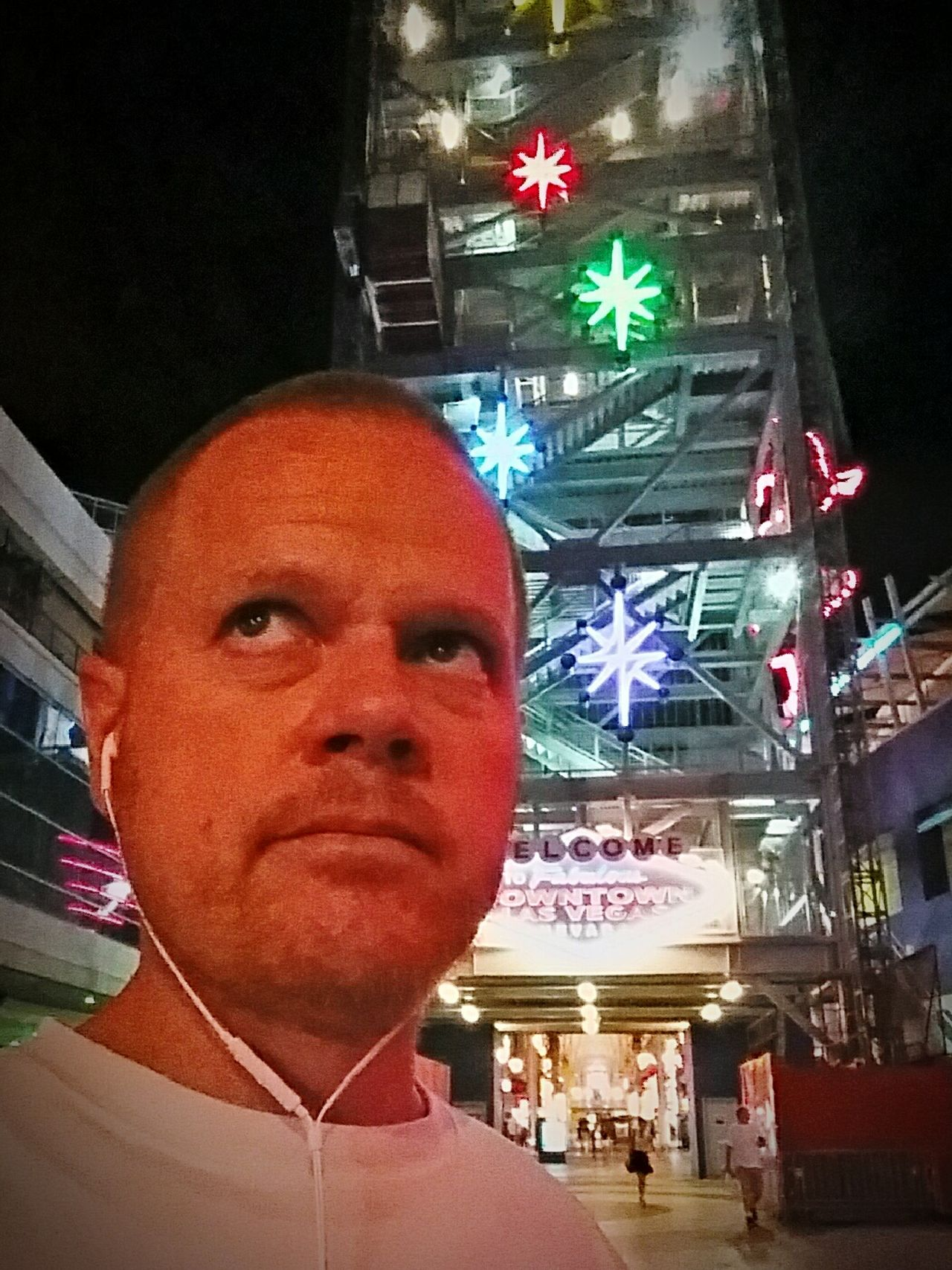 Slotzilla Fremont Street Experience Neon_signs Selfie ✌