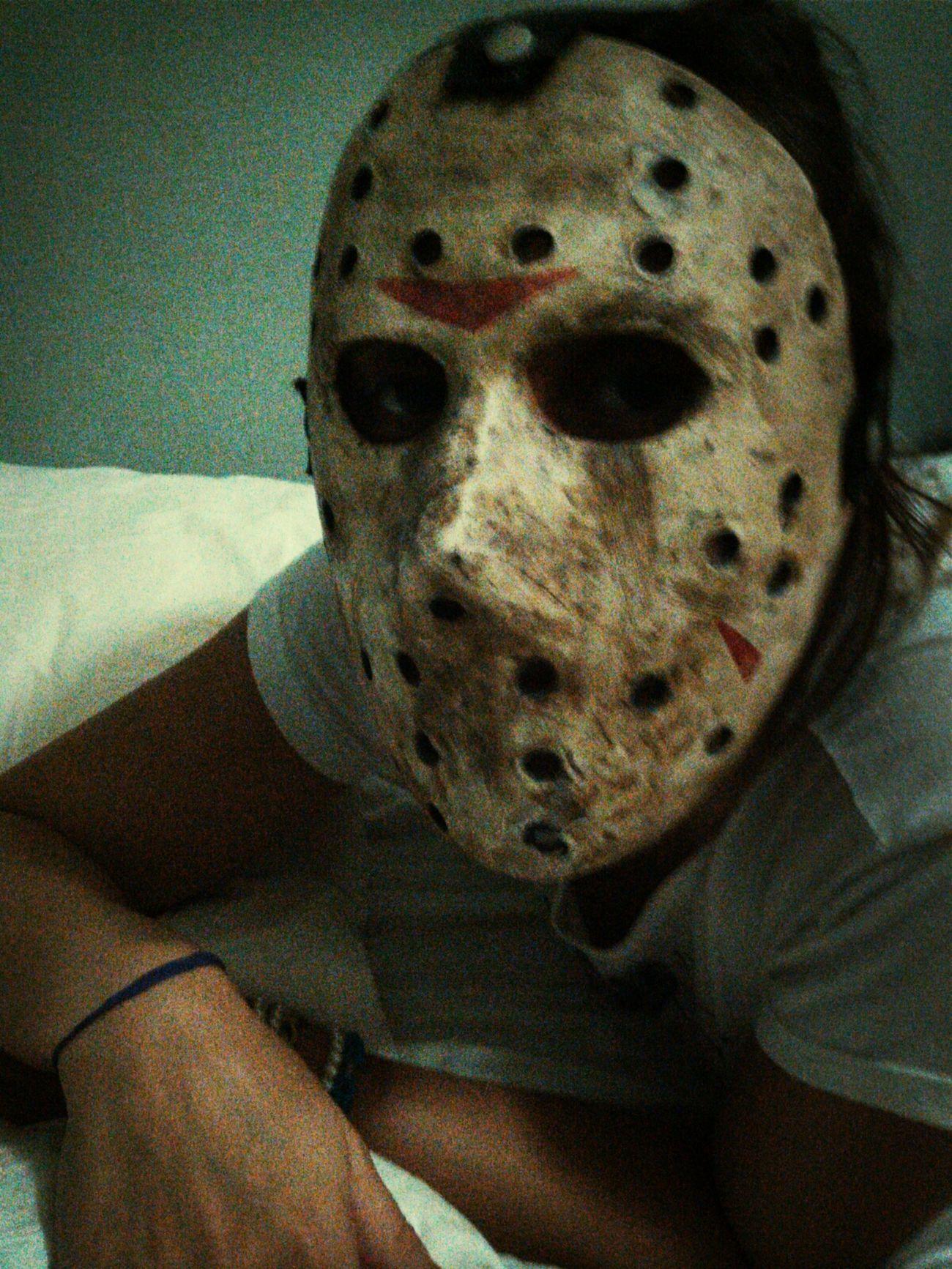 Mascara Jason Scary Face
