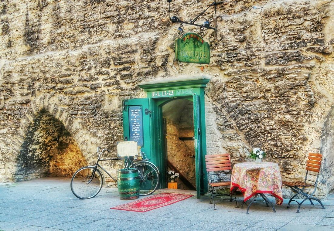 Café in the wall Walking Around Baltic Steetphotography Cobblestones Old Town G7x October2015 Tallinn Estonia Autumn Medieval Architecture