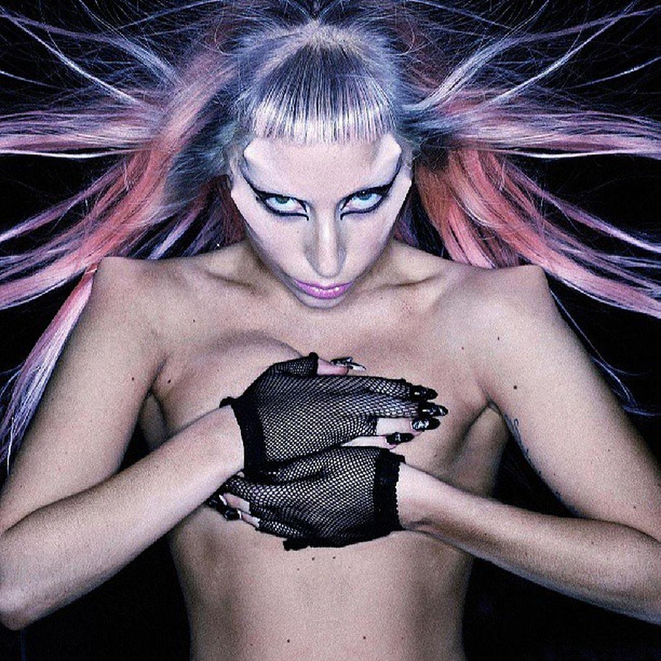 Btw!! Gaga Ladygaga Bornthisway Btw monster littlemonster crazy like yeah wow follow followme followback