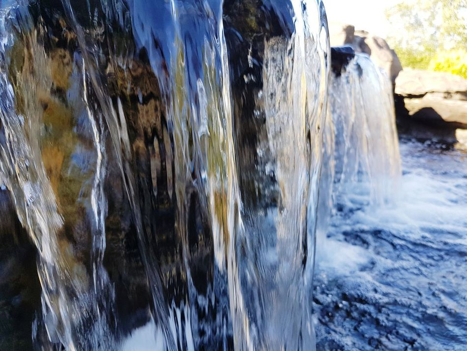 Waterfall Water Nature Flowing Day Outdoors Splashing Focus On Foreground Close-up Beauty In Nature Season  Tranquil Scene Sky Bye ✌ Lovelife Live, Love, Laugh Livehappy Breathing Space Be. Ready.