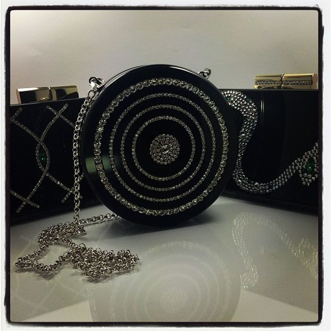 How Lucky a Girl can be? I kissed them and they kissed me! ❤ Finally the collection of URANIA GAZELLI AW13 handmade luxury plexiglass minaudieres are complete!!! ❤ Aw13 Perspex Plexiglass Lucite minaudiere clutches bags emerald snake artdeco swarovski crystals fashion design tranoi tradeshow uraniagazelli greece athens paris london milan fw13 handmade craftmanship love passion followyourdreams