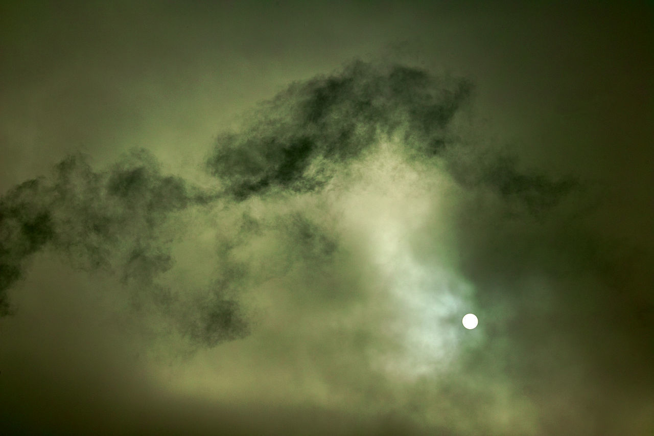 Beauty In Nature Clouds Day End Of Nuclear Winter Nature No People Sky Smoke - Physical Structure Space