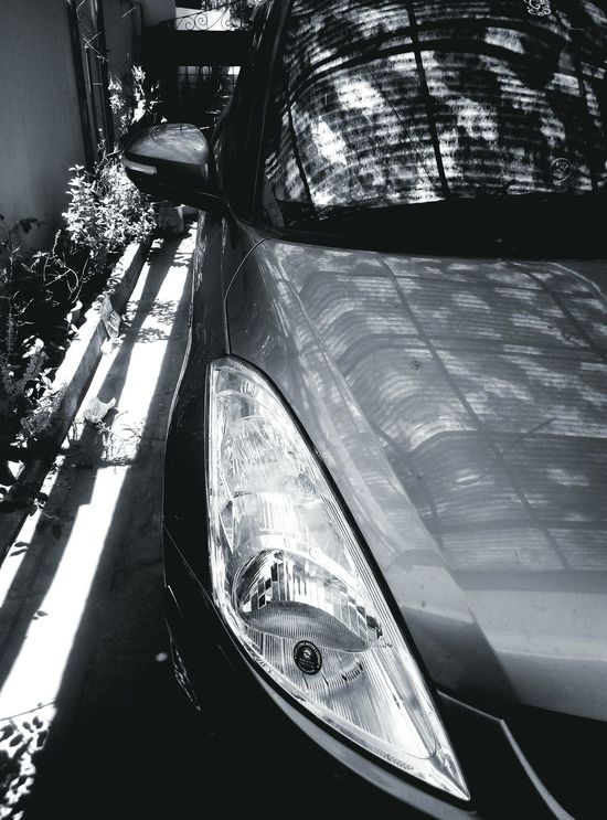 Transportation Car Mobile Photography Mobilephotography Mobile Wallpaper WallpaperForMobile Black And White Head Light