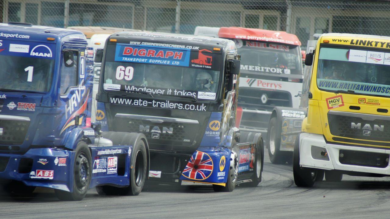 Truck Racing at Donington. Race Race Tracks Truck Racing Motor Racing Racing Truck Speed