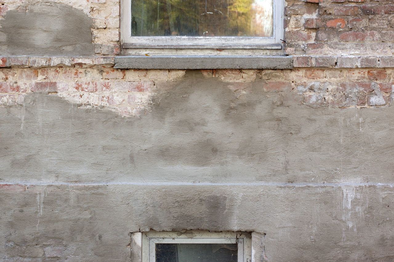 Structures and Backgrounds as found in Berlin: Details of a run-down facade, bricks and plastering Backgrounds Bricks Bricks And Stones Copy Space Details Details Textures And Shapes Facade Detail Facades Grunge Plasterwork Run-down Stone Material Stone Wall Structures Textured  Textures Textures And Surfaces Window