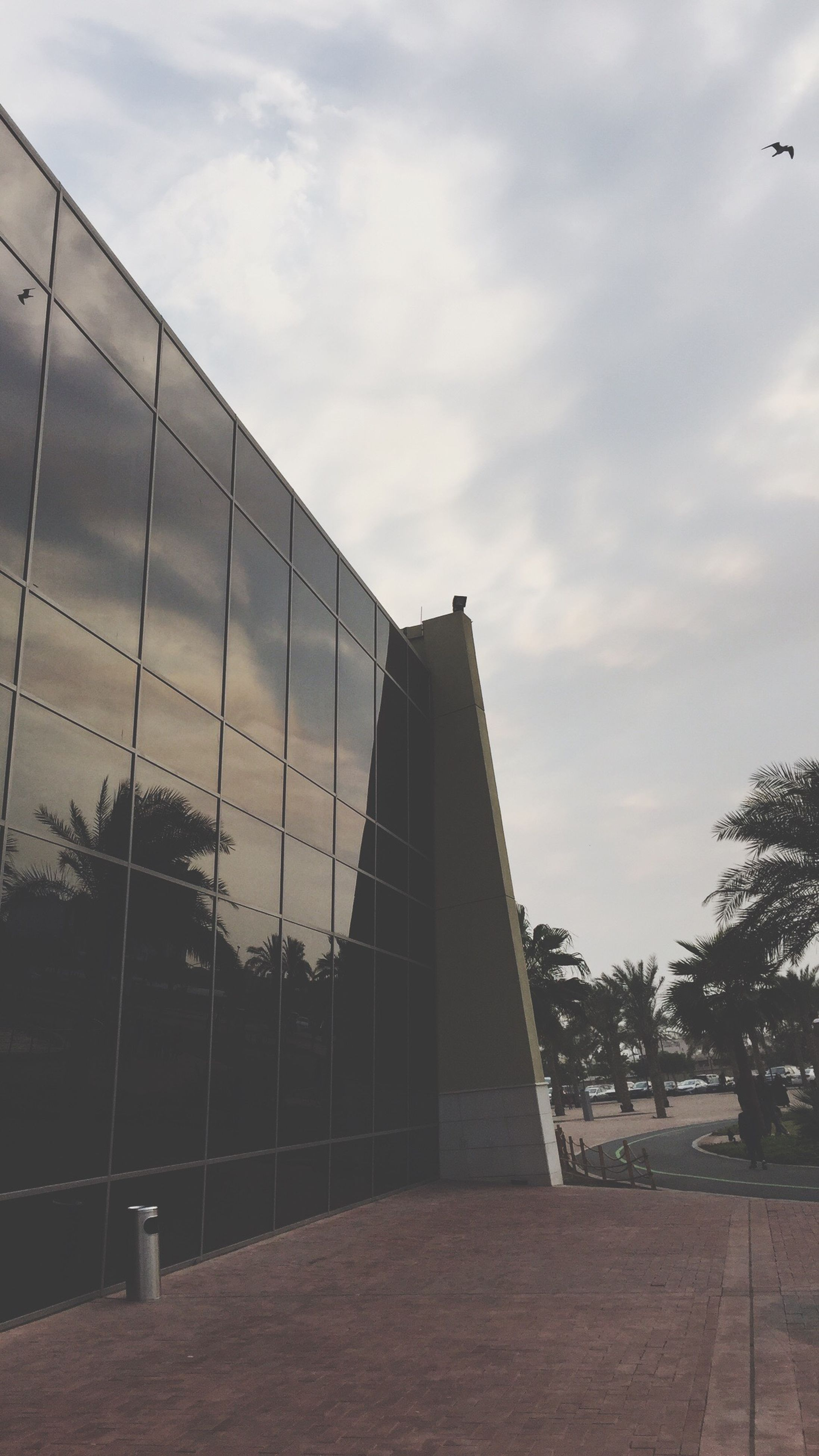 sky, architecture, built structure, sport, no people, cloud - sky, outdoors, day