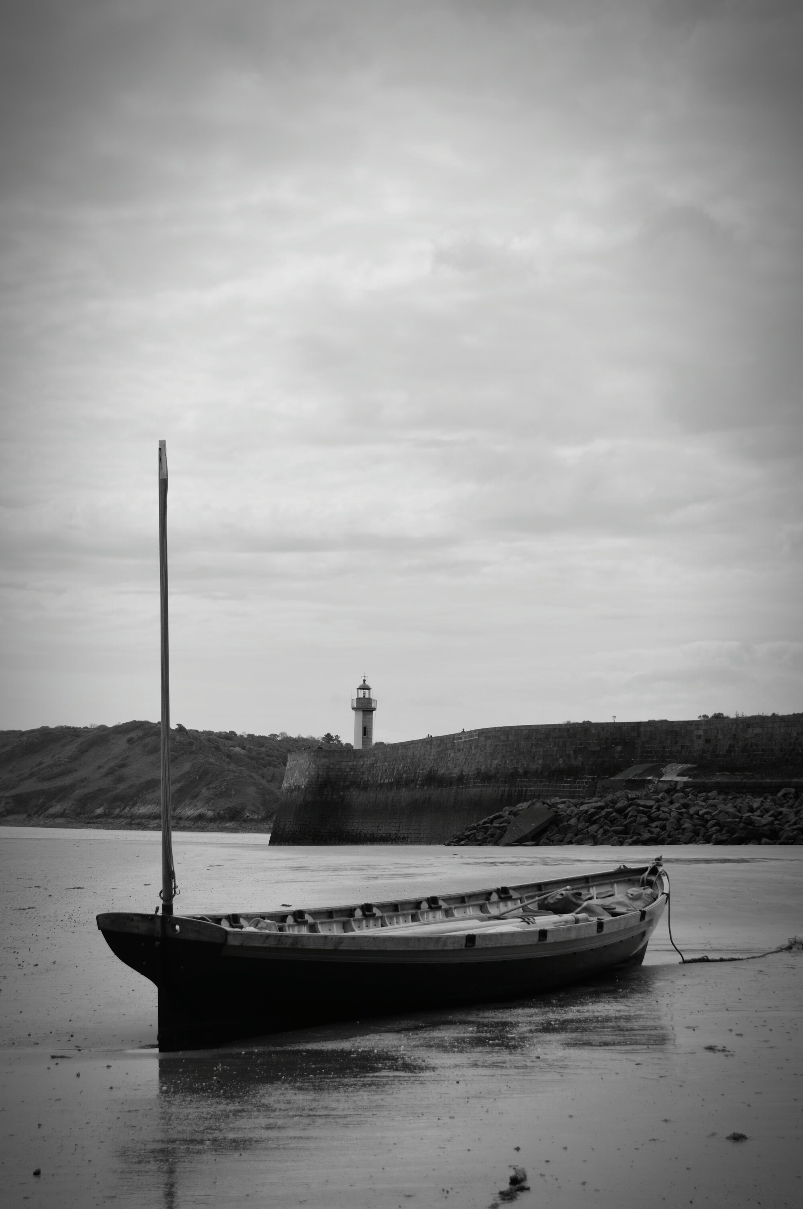 water, nautical vessel, sea, sky, beauty in nature, nature, waterfront, transportation, mode of transport, tranquility, day, outdoors, no people
