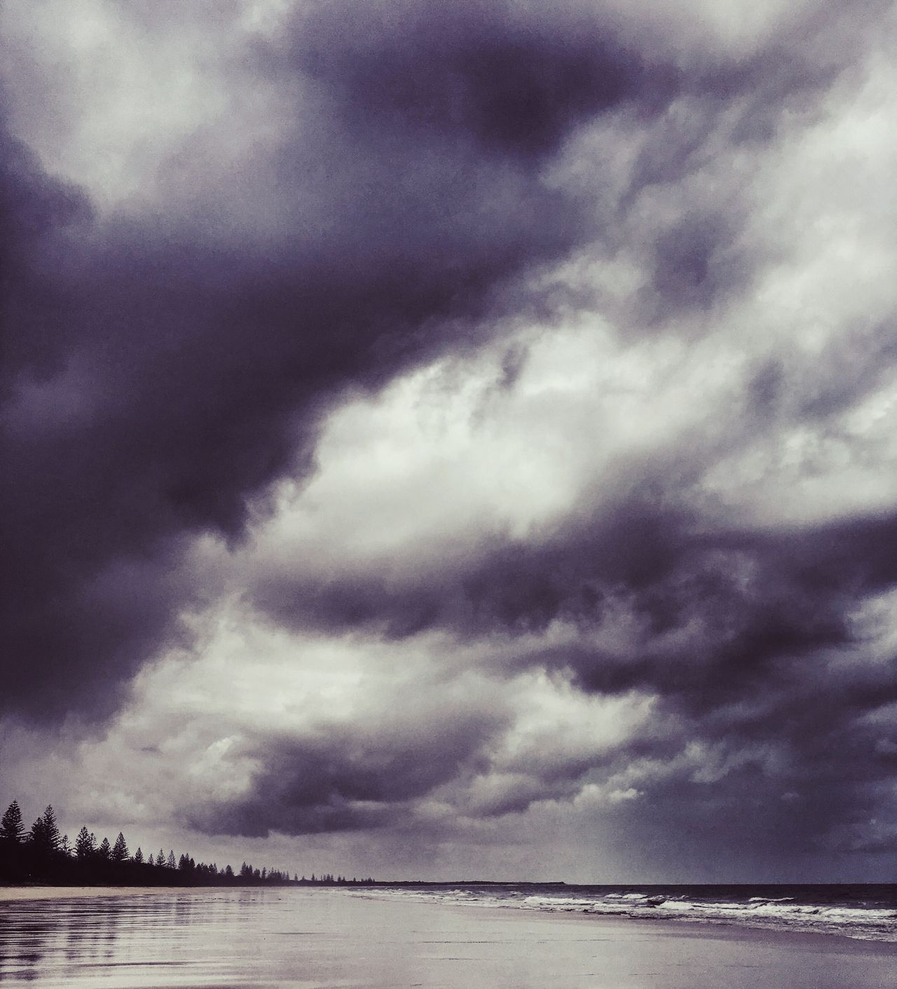 Stormy Clouds Black And White Stormy Clouds In Black And White Fierce Nature Natural Phenomena Clouds Cloud And Sky Cloud_collection