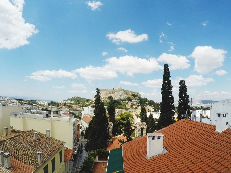 Beautiful stock photos of athens, architecture, built structure, building exterior, sky