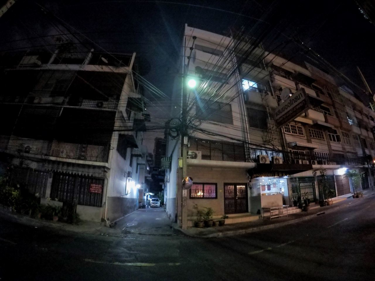 Night Illuminated Architecture City Built Structure Building Exterior No People Outdoors 7 Eleven Bangkok Streetstyle GoPrography