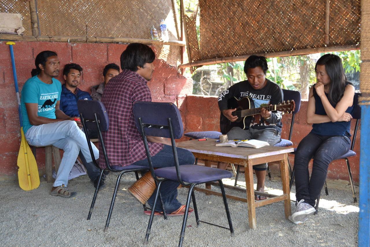 Young Adult Adults Only Band Music Phewa Lake Pokhara!