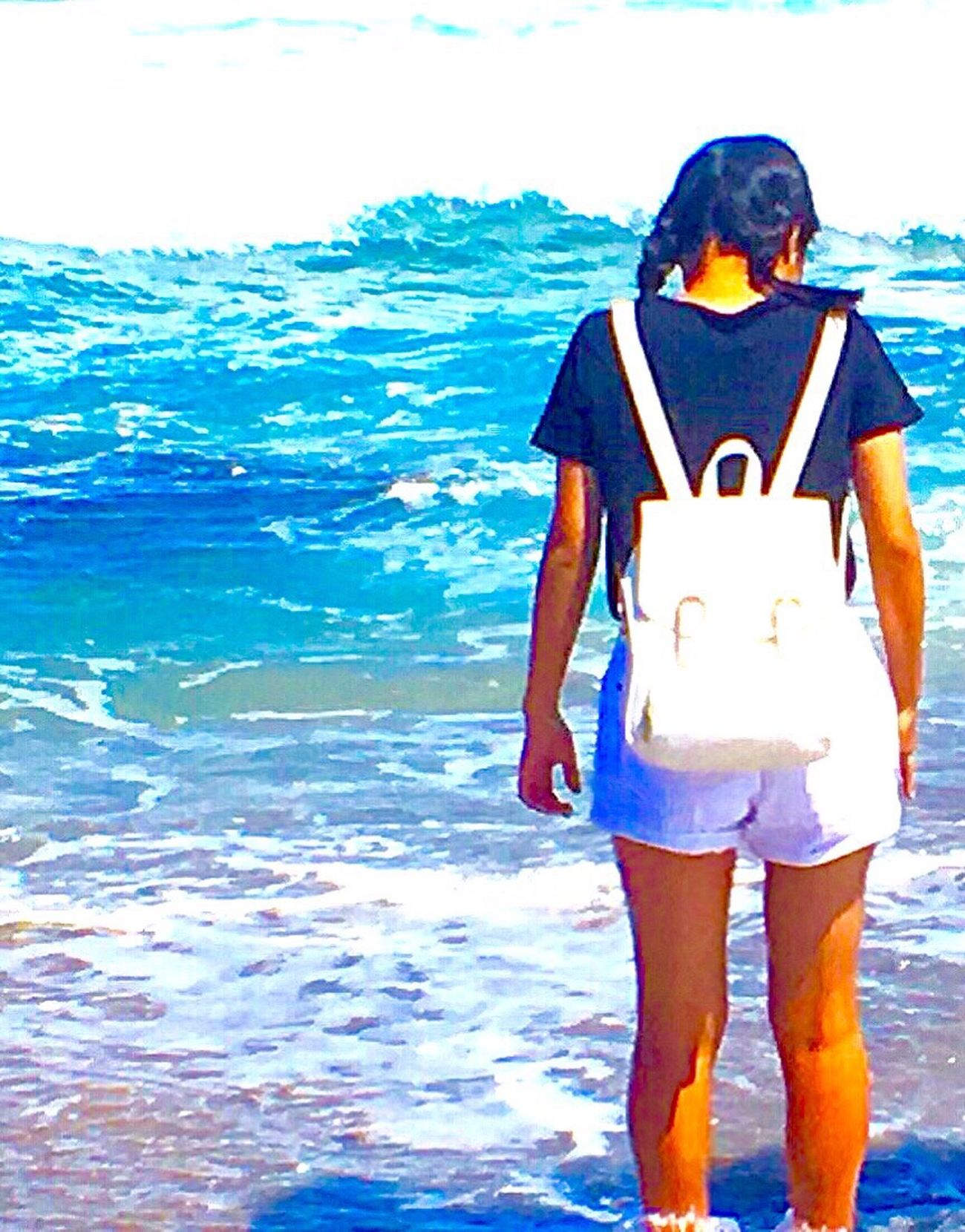 Summer Break is Almost Done i Would Like To  Go The Sea Again 💭💞 Photo Taken my Brother