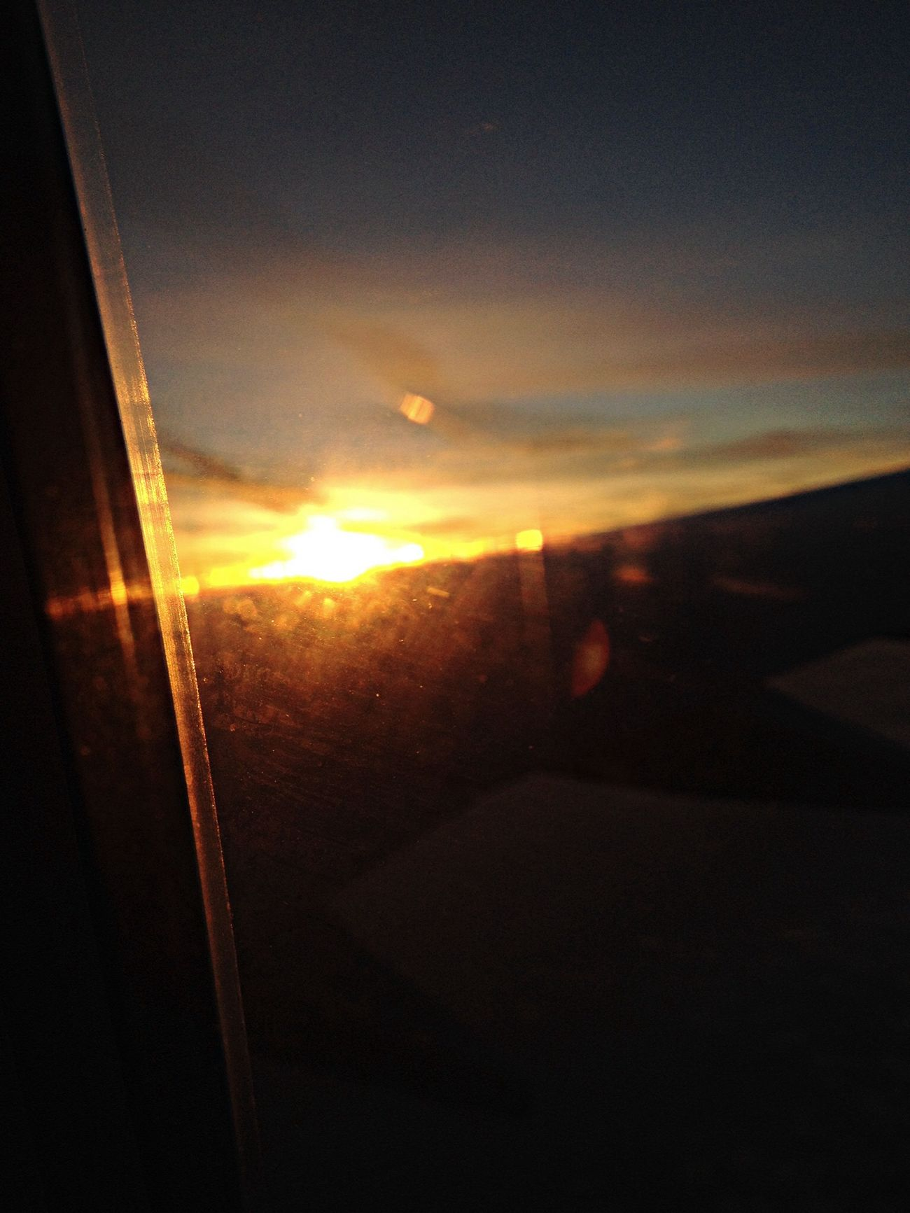 My A Frame Within A Frame photo. Photography Sunset Airplane