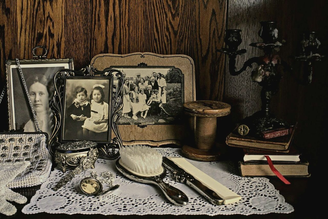 'In Praise of Older Women' Lieblingsteil Old-fashioned Indoors  Table Antique Fashion Variation Tranquil Scene Wood - Material Women Who ınspire You Vanity Table Antiques Jewelry Ontario, Canada