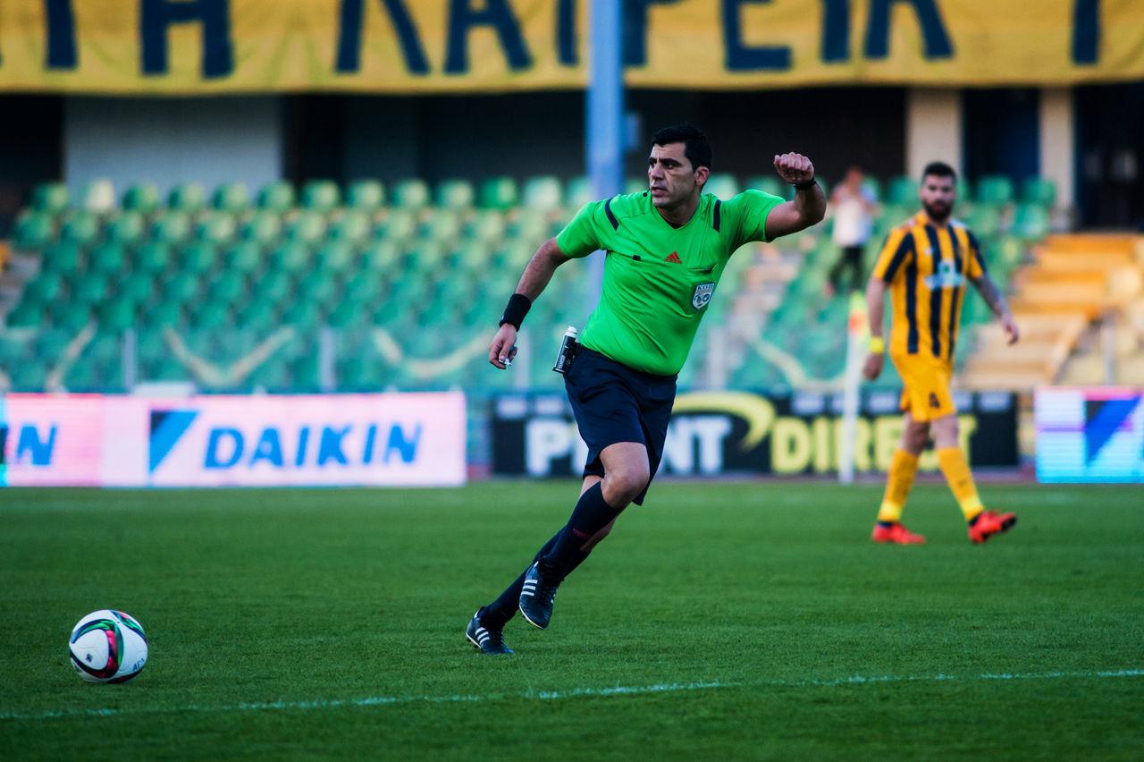 Ael FC win Ethnikos Achnas FC at Tsirio stadium in Limassol for a Cyrpus Football Association game on 28.02.2016 1-0 28.02.2016 AEL FC Cfa CFA2015-2016 Ethnikos Achnas Limassol Cyprus TSIRIO STADIUM LIMASSOL Win For Ael FC